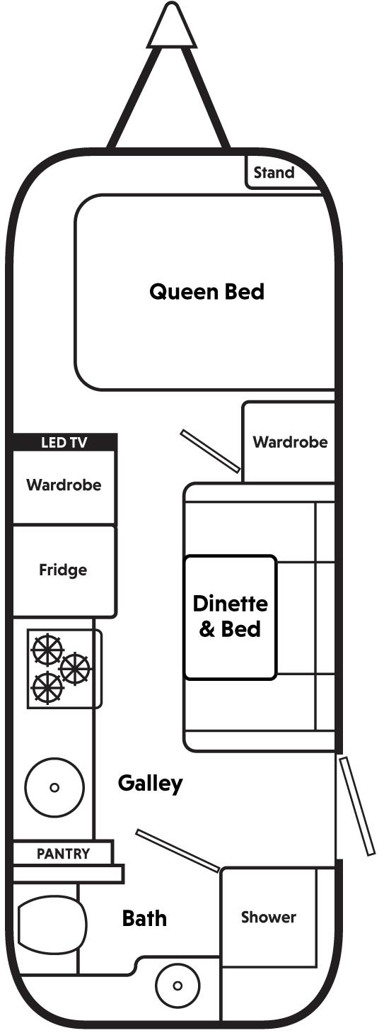 GuestWings Floor Plan