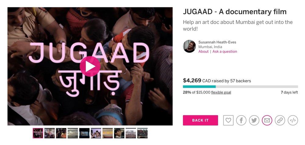 - Last week, folks! Let's do some jugaad!
