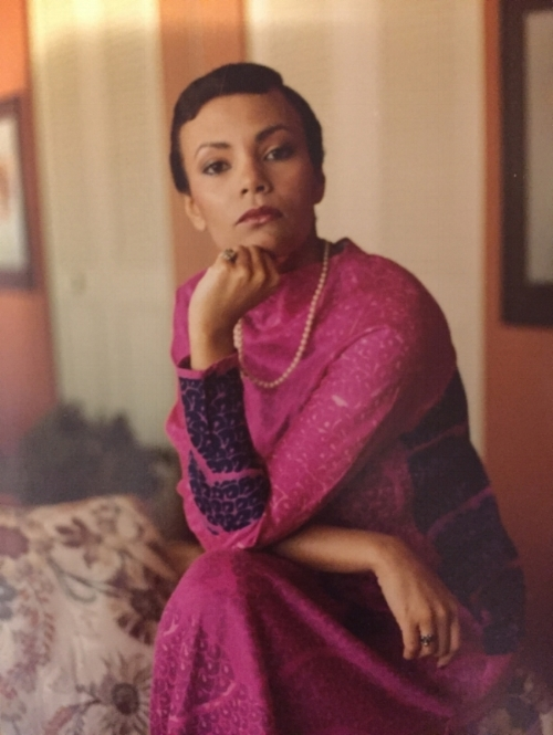 My mom, Suzette Lewis. Slaying in the 70s.