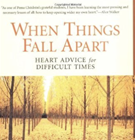 When Things Fall Apart - Pema Chodron - Grief Books - resources - loss&found