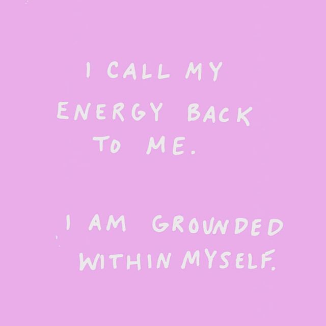 To protect your energy it is okay to say NO. It is okay to put your needs first. It is okay to disengage. It is okay to go within. It is okay to do what you need to be true to your fullest, most authentic Self. It is okay if no one else understands. It is okay, it is okay, it is okay. . . 🙏🏿 to @gottesss for the image
