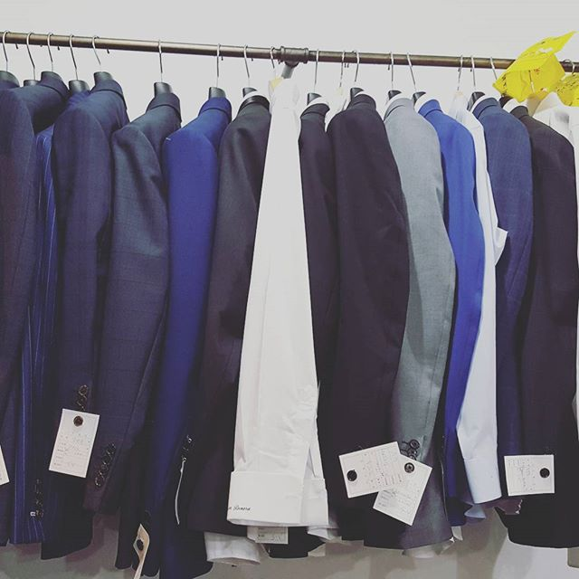 Busy busy - thanks to everyone and their support. We will continue to do good work for you and your friends. - - - - - - - - - #hardworkpaysoff #customsuitstoronto #customweddingsuit #fullcanvas #torontosuiting #tailoring #learnaboutsuits #suitup #kingandrooksuits #mensfashion #torontogroom #busy #businesssuit #powersuit