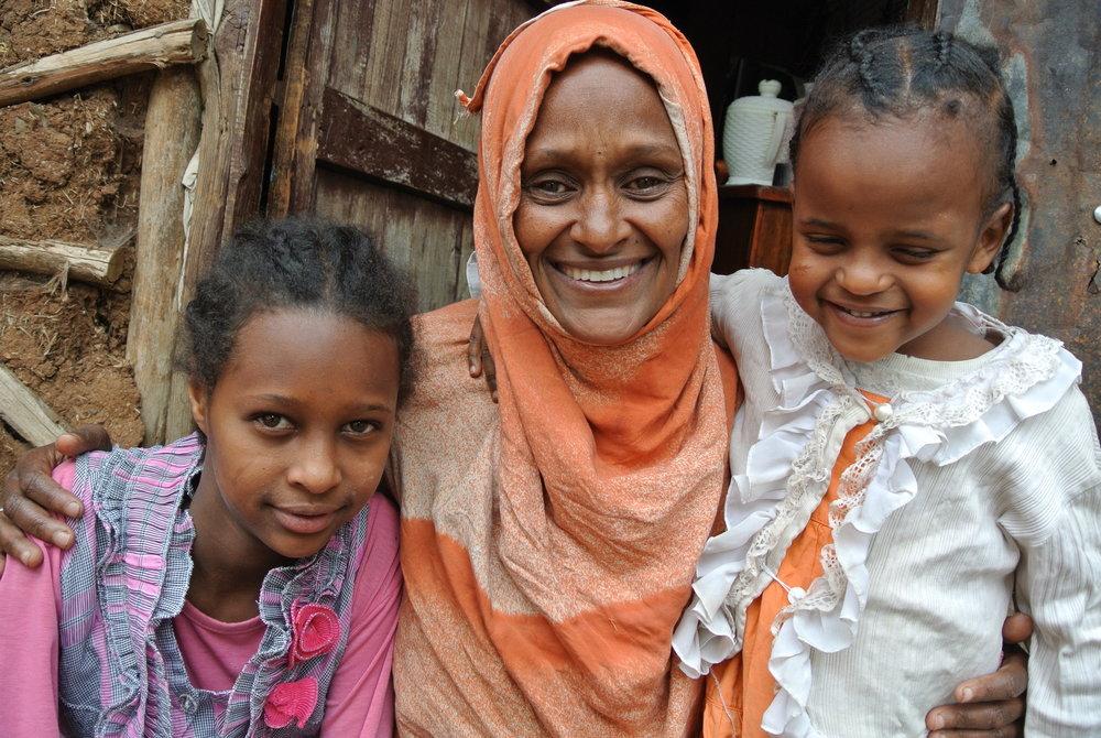 Outreach Visit June 2016, Hayat Sanni, Asma Kedir & Zuleyka Adem (1).JPG