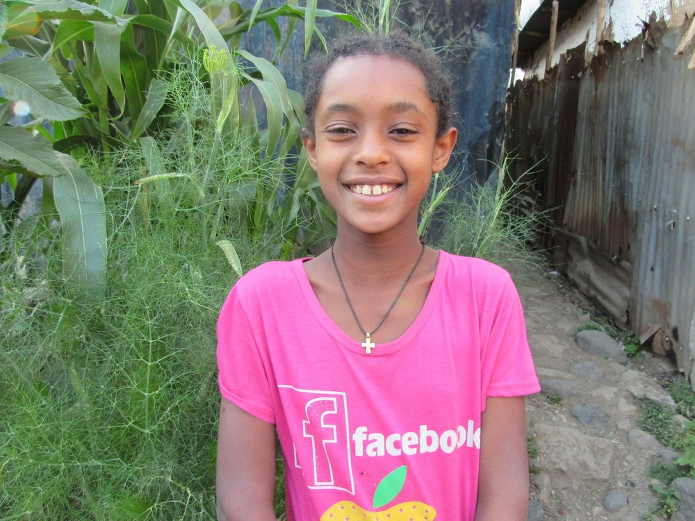 Sitota is in grade 6, and her family is supported by Selamta's Outreach Program. She has one younger sister, and they live with their mom. She needs a Mentor Sponsor.