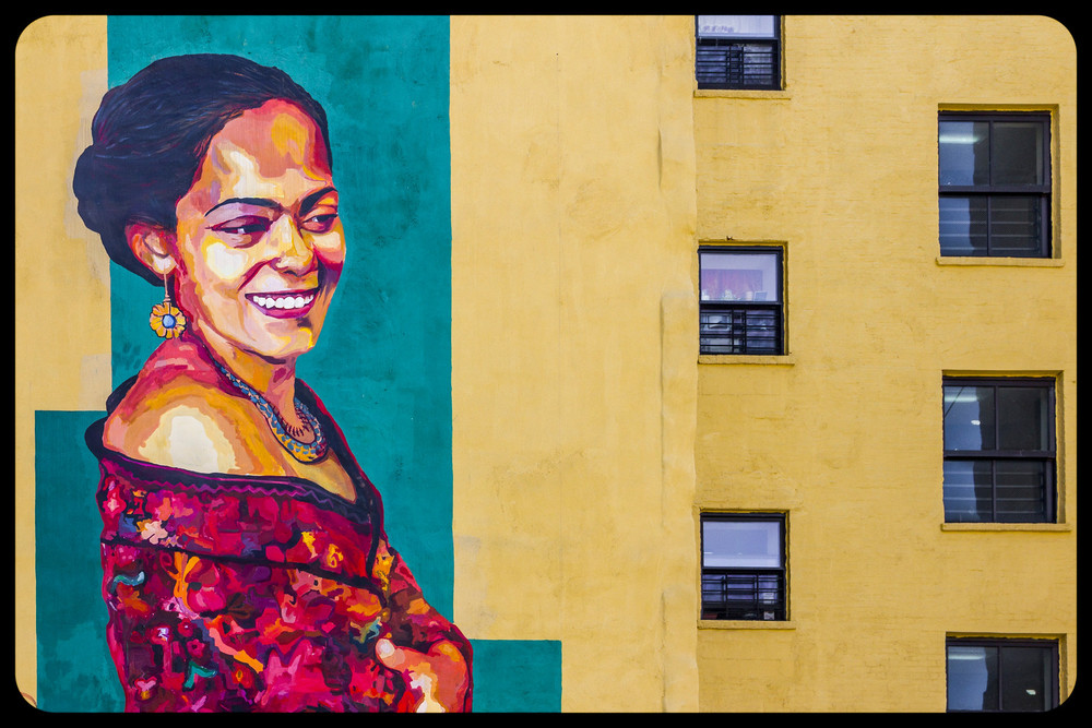 The Lady of East Harlem