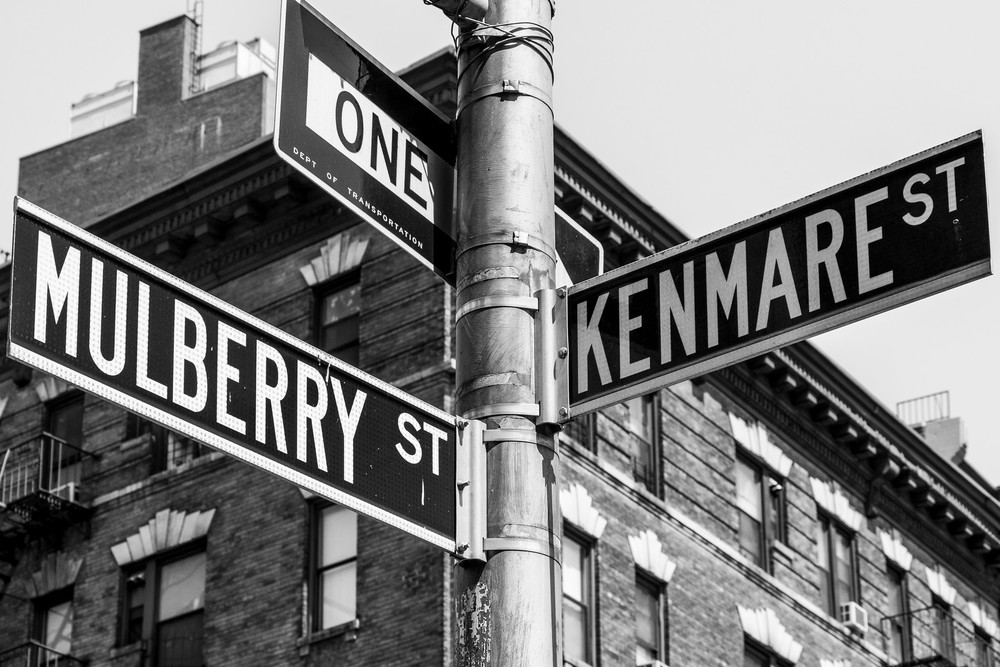 Mulberry & Kenmare Streets
