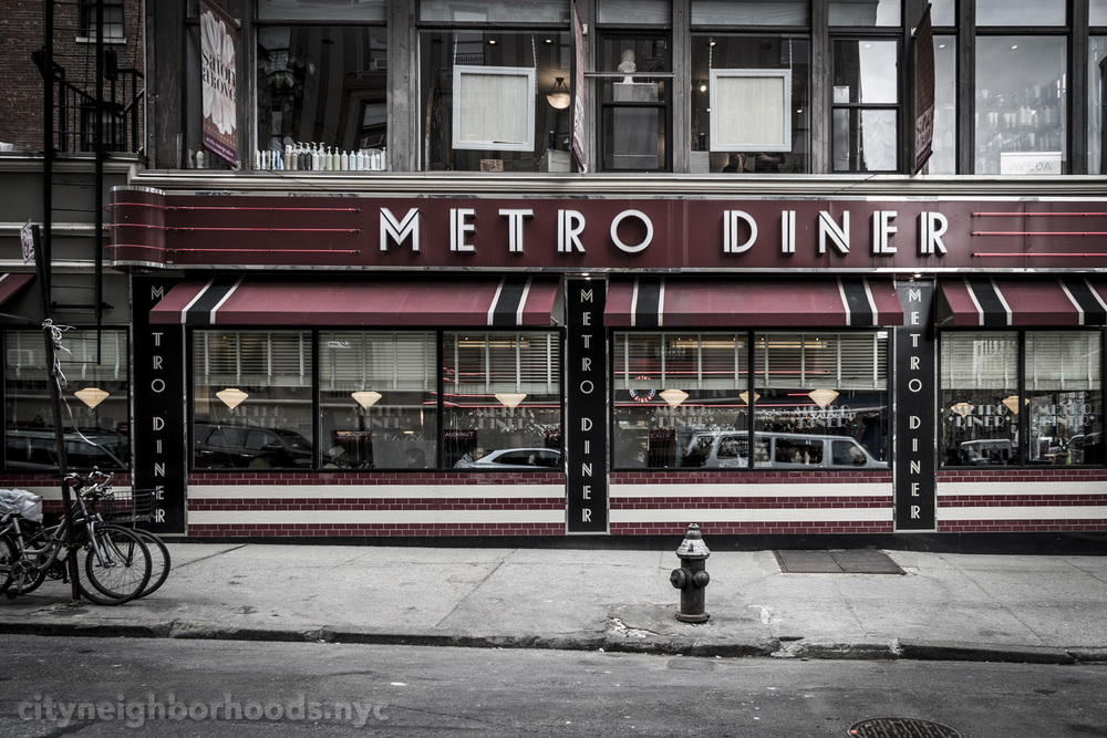 Metro Diner - Broadway and West 100th Street - Bloomingdale District - Manhattan - NYC