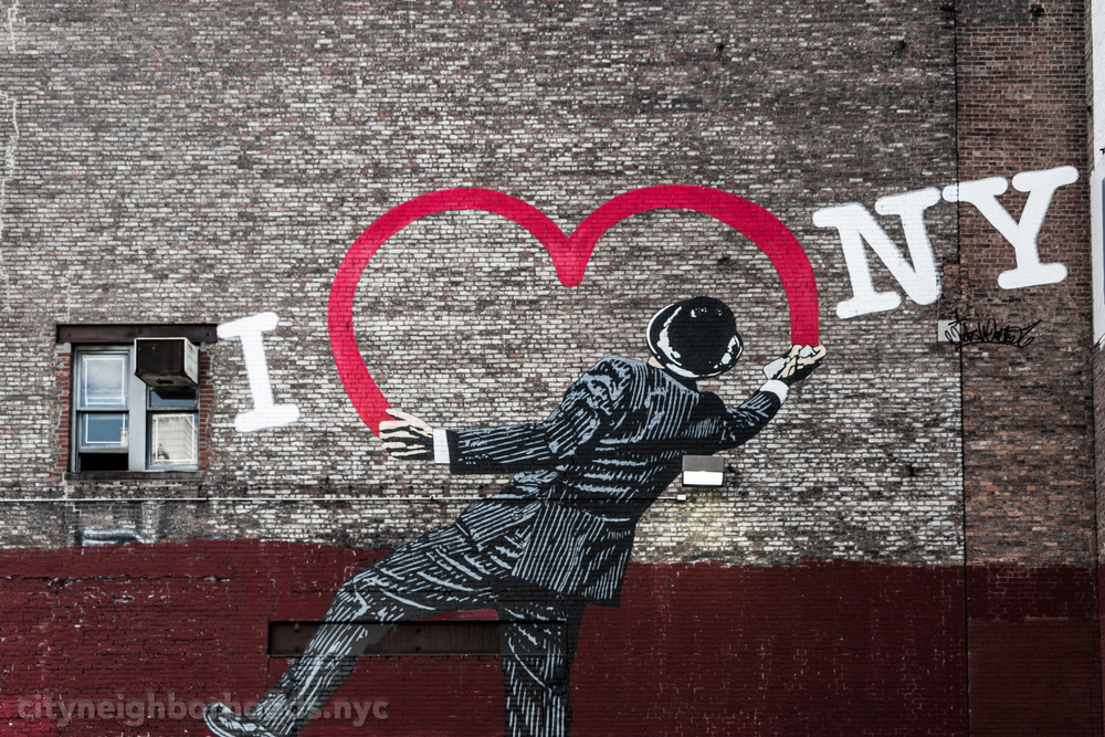 """I Heart NY"" - West 17th Street - Chelsea - Manhattan - NYC"