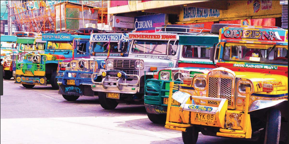 Figure 1. Jeepneys in Metro Manila