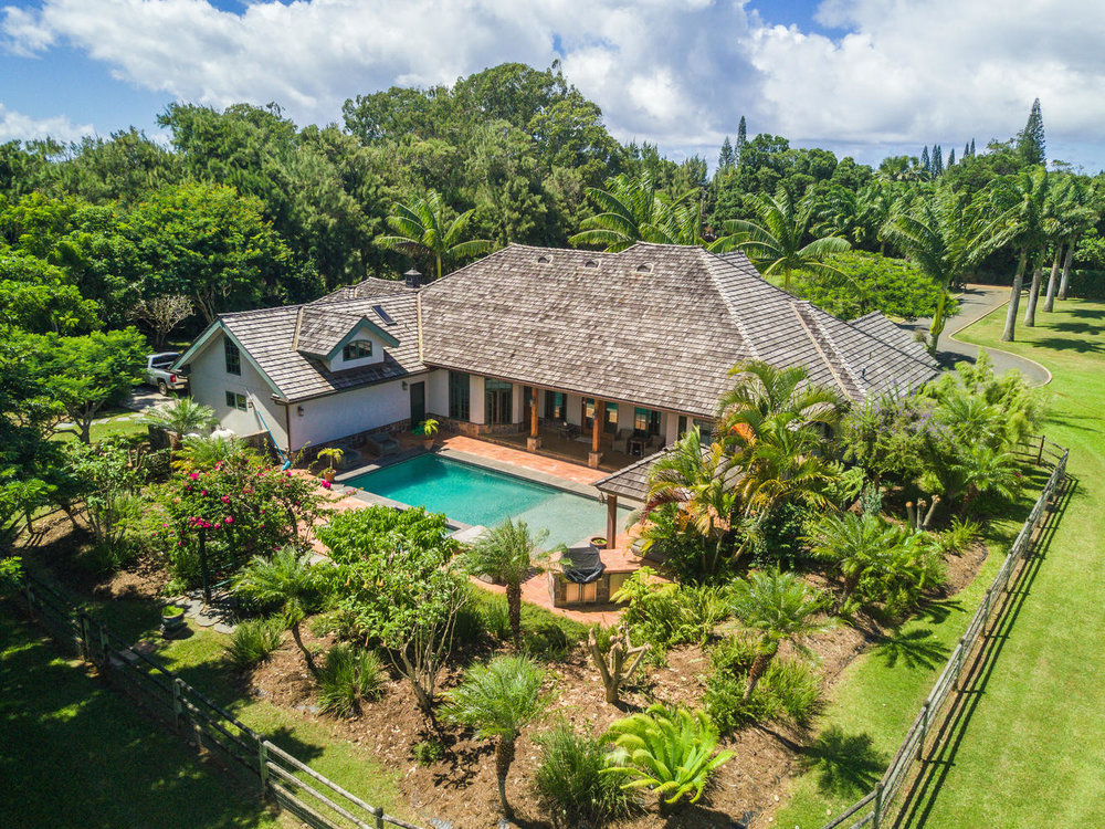 Sitting in the heart of Kilauea,  Ben Welborn and Tiffany Spencer  recently sold this home for $2.35M.