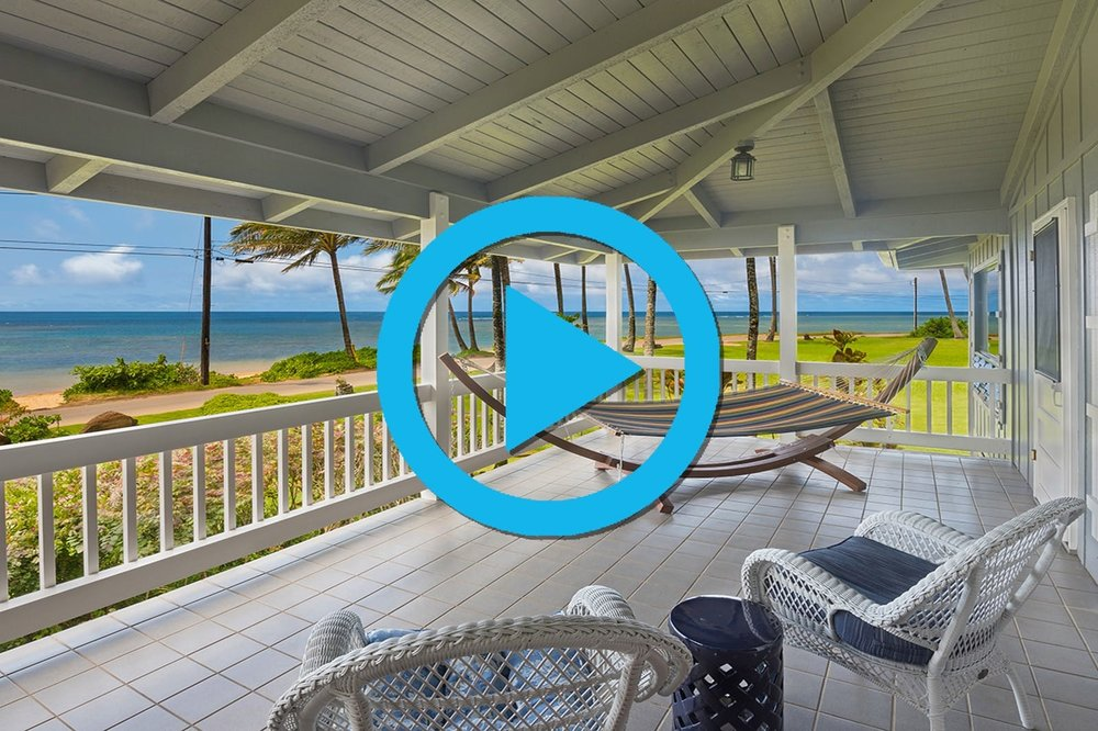 "<div align=left><span style=""color:#13b5ea""><strong>Anini Beach, North Shore Kauai</strong><br>4 Bedroom, 3 Bath Licensed TVR on 13,000-Sqft Lot<br>$3.995M - <i>Almost Oceanfront</i></span></div>"