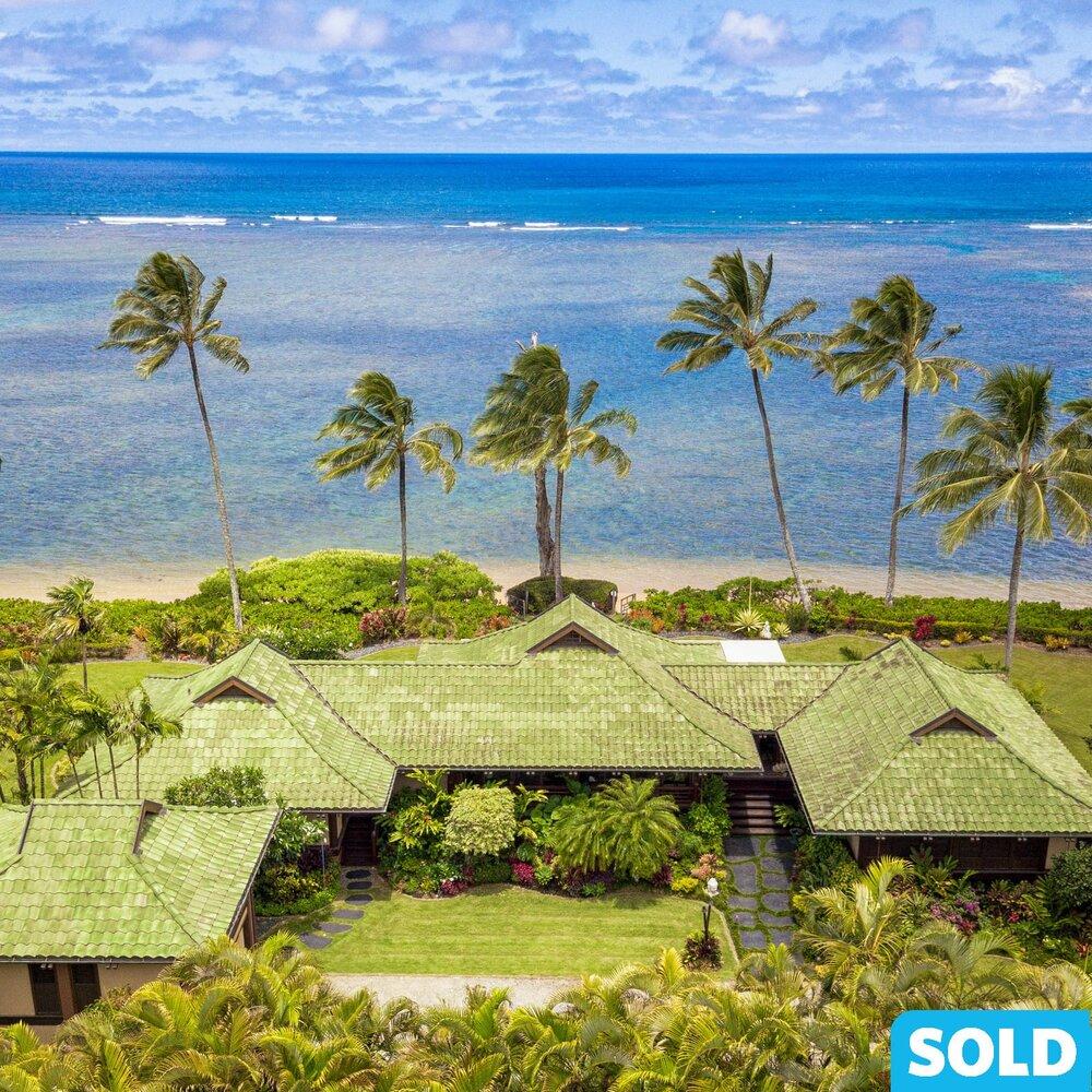 Anini Beach Wailana Mālie - $16.75M