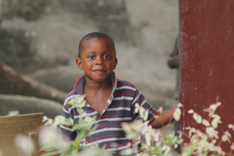 This is Jo-el (not Joel) who is David and Wilma's grandson who lives with them.