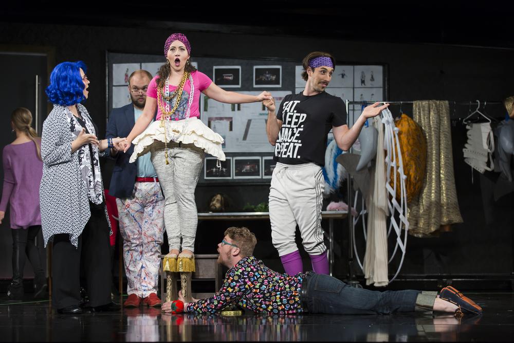 L'Opera Seria, Smorfiosa, Wolf Trap Opera, 2016  Photo: Scott Suchman