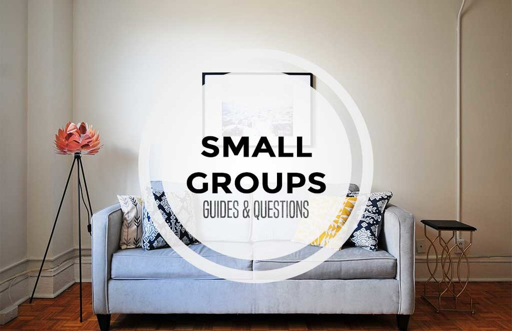 Here you can download small group questions to help guide you through your group's discussion. Feel free to use them or throw them aside! Remember, allow students to speak the most. It's important that they come to the conclusions themselves.