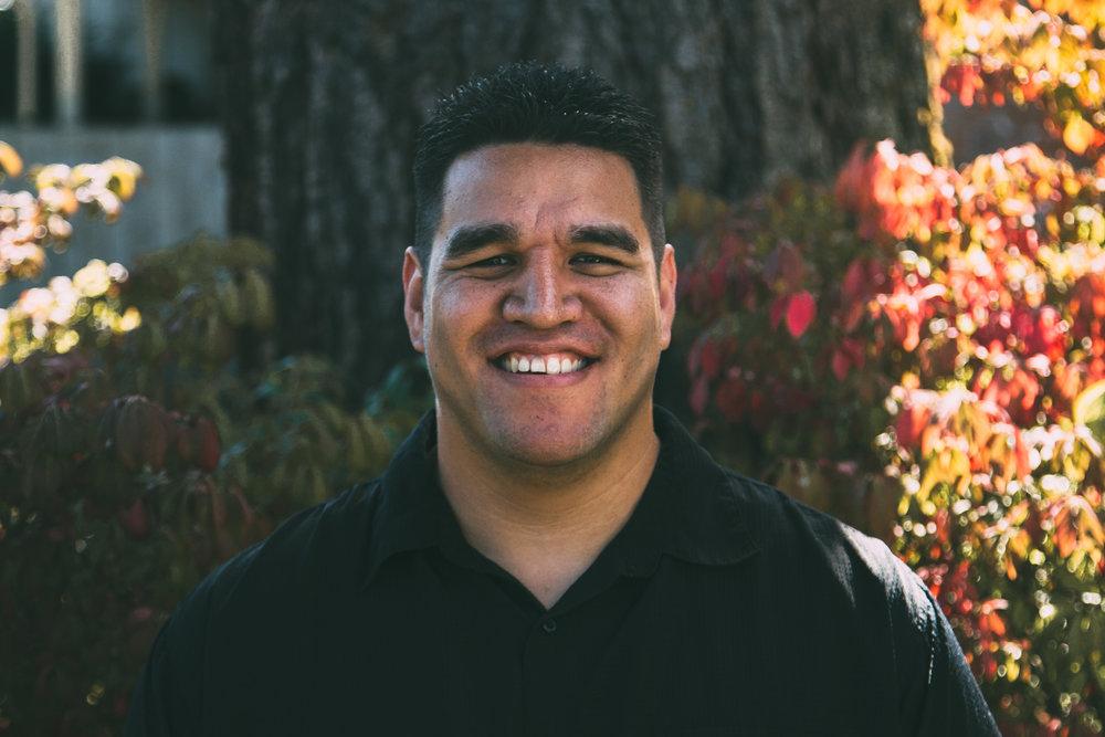 Noah Naipo, Associate Pastor of Children's Ministry noah@ecconline.cc