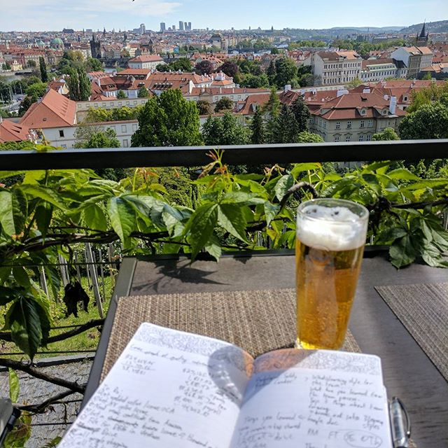 After you whittle down on that to-do list, be sure to enjoy the weekend with a nice pilsner and an amazing view. How do you reward yourself for a productive week?