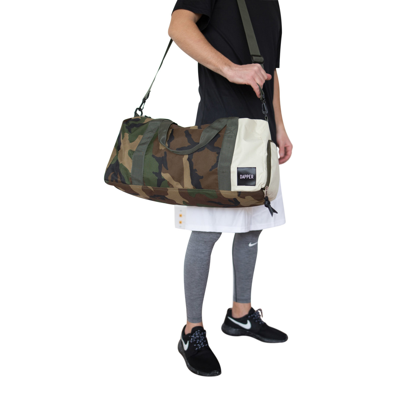 Two-Toned Duffel Bag (Camo   Cream) 113f269e6f837