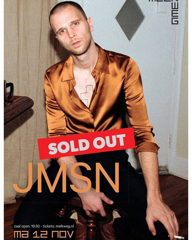 European Velvet Tour Pt. II Amsterdam is Sold Out.  Tickets for All Other Shows at  iamjmsn.com/tour