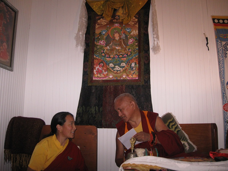 Lama Zopa and Khandrola.jpg
