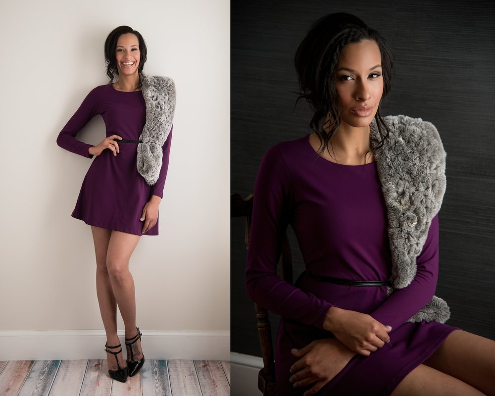 Julie J. Photography  Dress and Fur:  Bliss at 5812