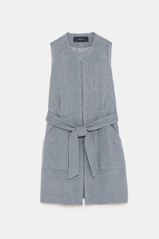 Zara Belted Vest, $99.90