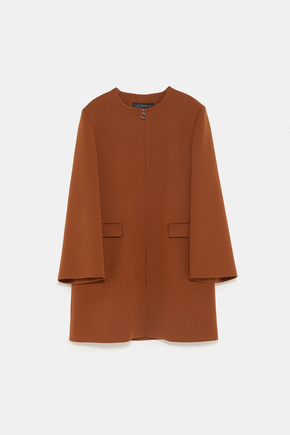 Zara Zippered Topper, $129