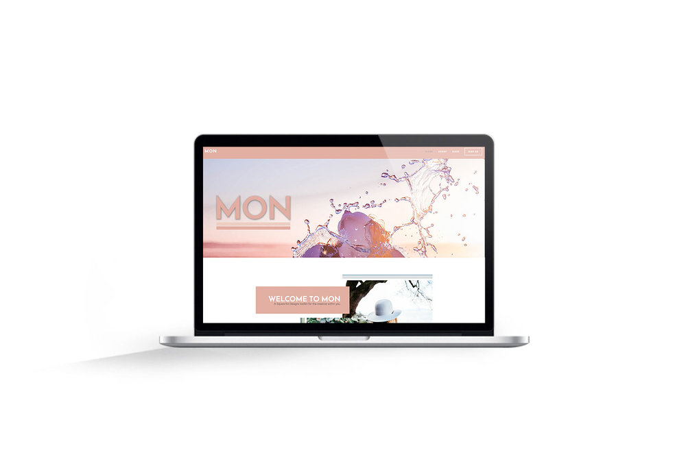 MON [Squarespace] Toolkit - With it's Californian inspired edginess, the Mon toolkit is bound to have you launching in style (in no time!)