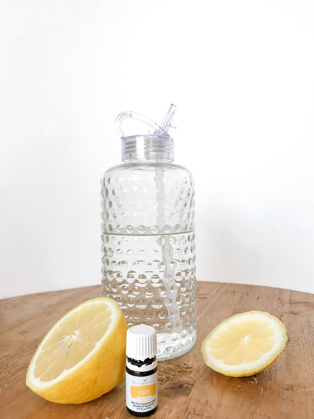 Lemon Vitality oil in your drinking water for a refreshing mid day pick me up!