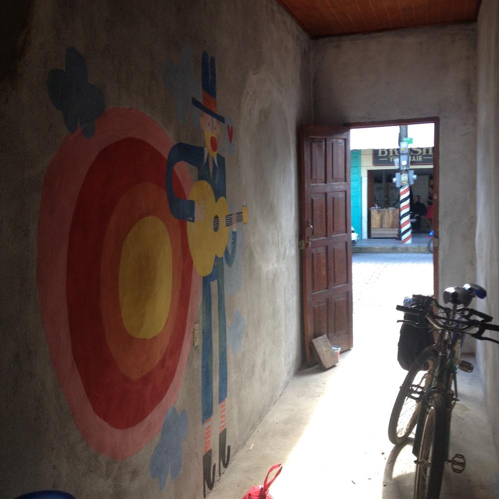 mural, Nicaragua 2014