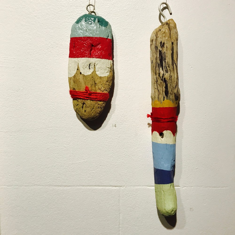 Painted Drift wood, Summer Love Show