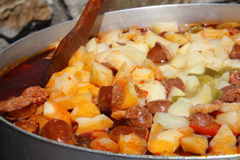 Pats con Chorizo