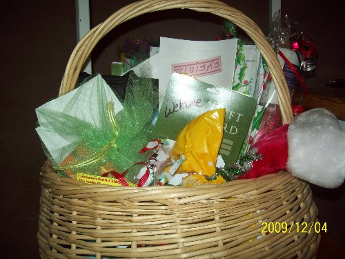 First Basket- 12/2009