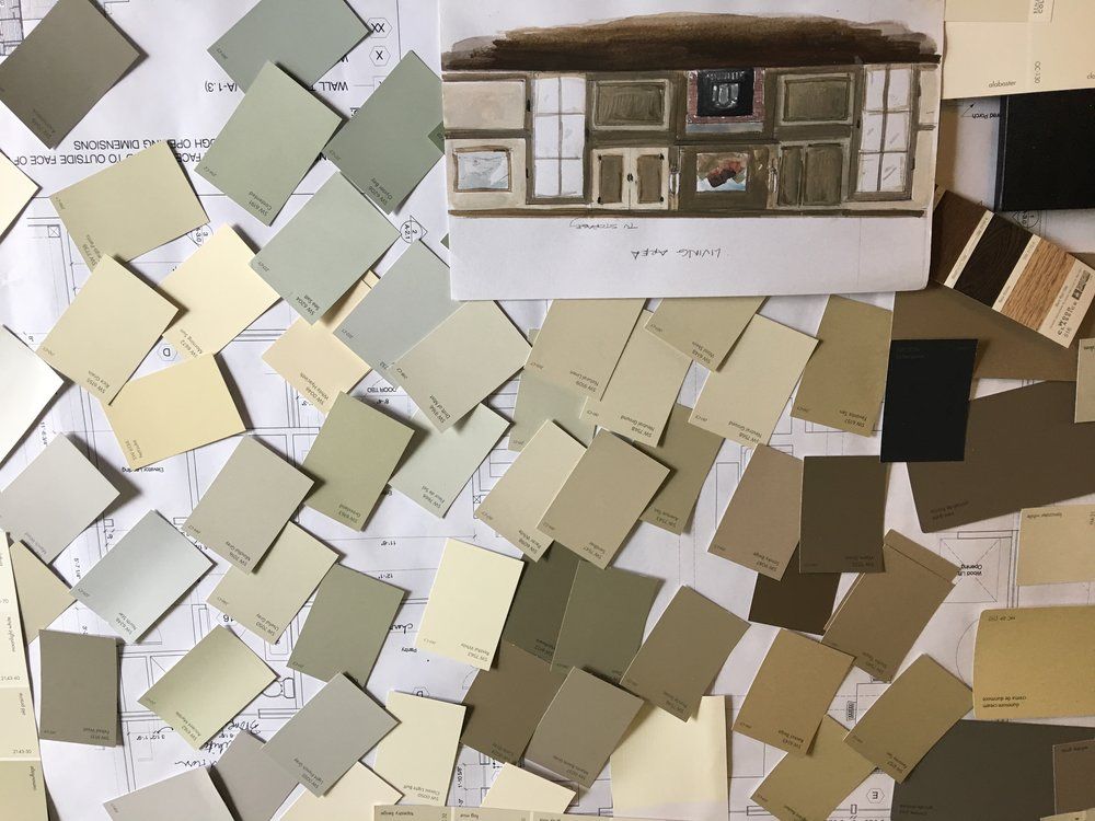 Creating a color palette for your Home or Office