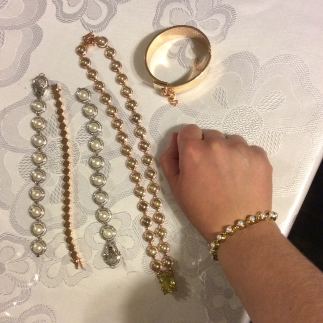 My haul from the Eddie Borgo sample sale. $2315 worth of jewelry for $110!
