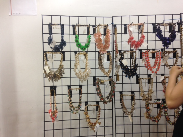 EMBELLISHED NECKLACES $40