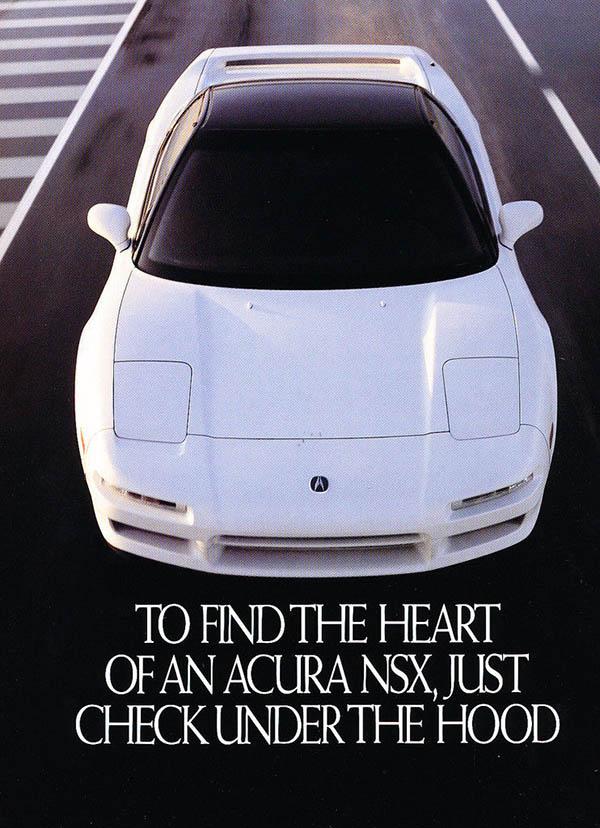 Vintage NSX Ads
