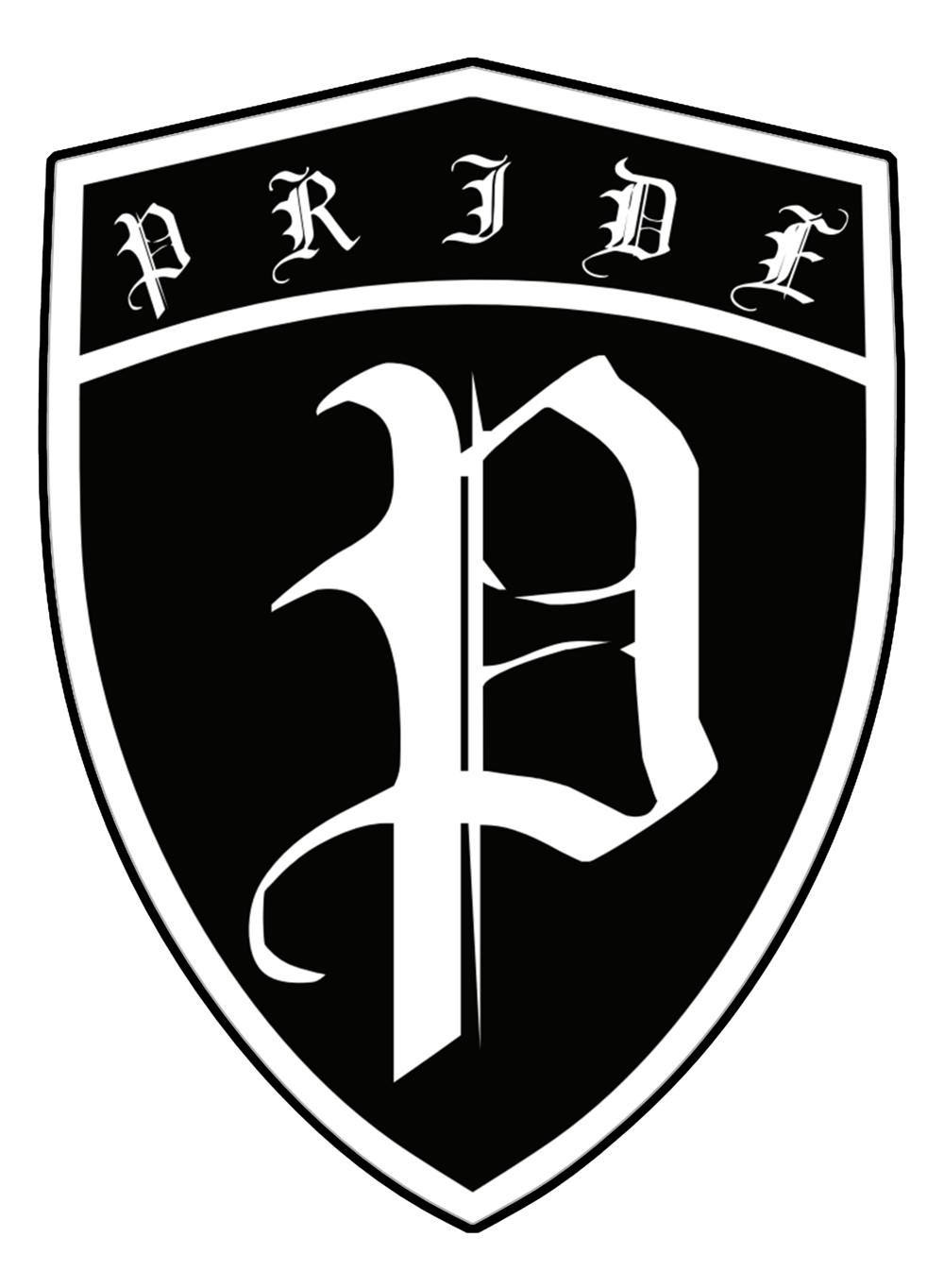 PRIDE Black and White logo.png
