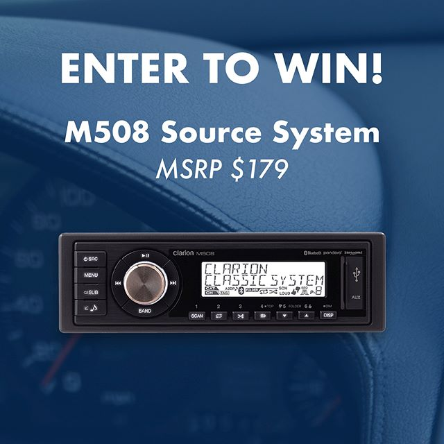 Calling all drivers! We need your help! Fill out the short 5-min #survey in our Bio for a chance to win our best selling M508 source unit and a slew of other prizes. Survey closes 8/24.