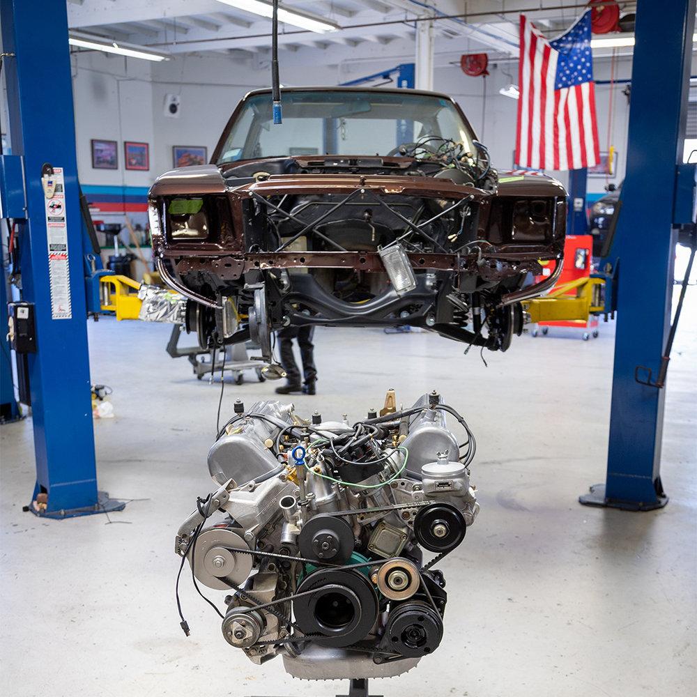 Engine Install at Coast Motorwerks
