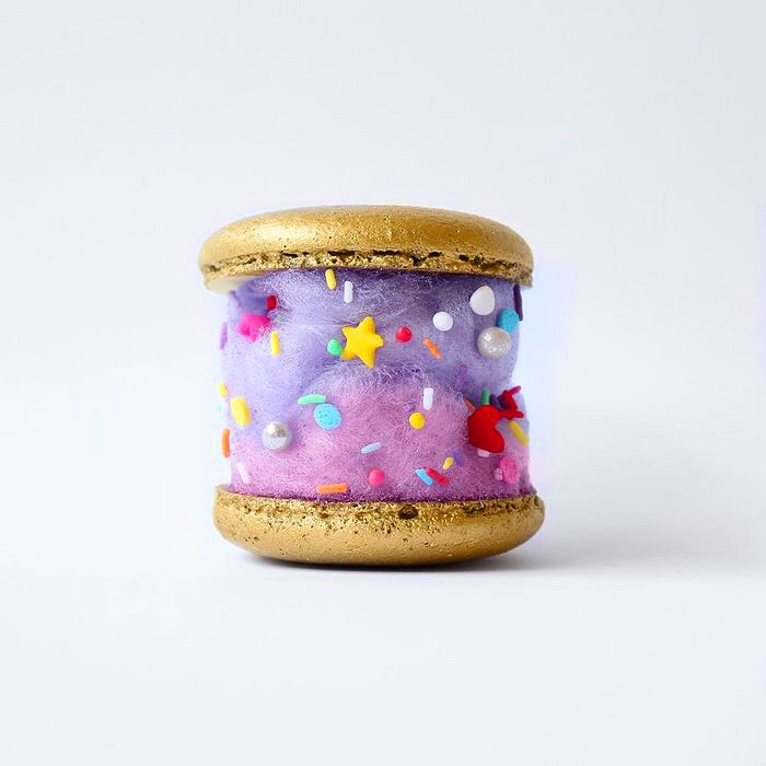 macaron magical unicorn cotton candy