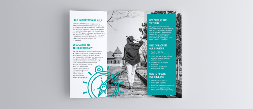 Peer Navigator Program brochure