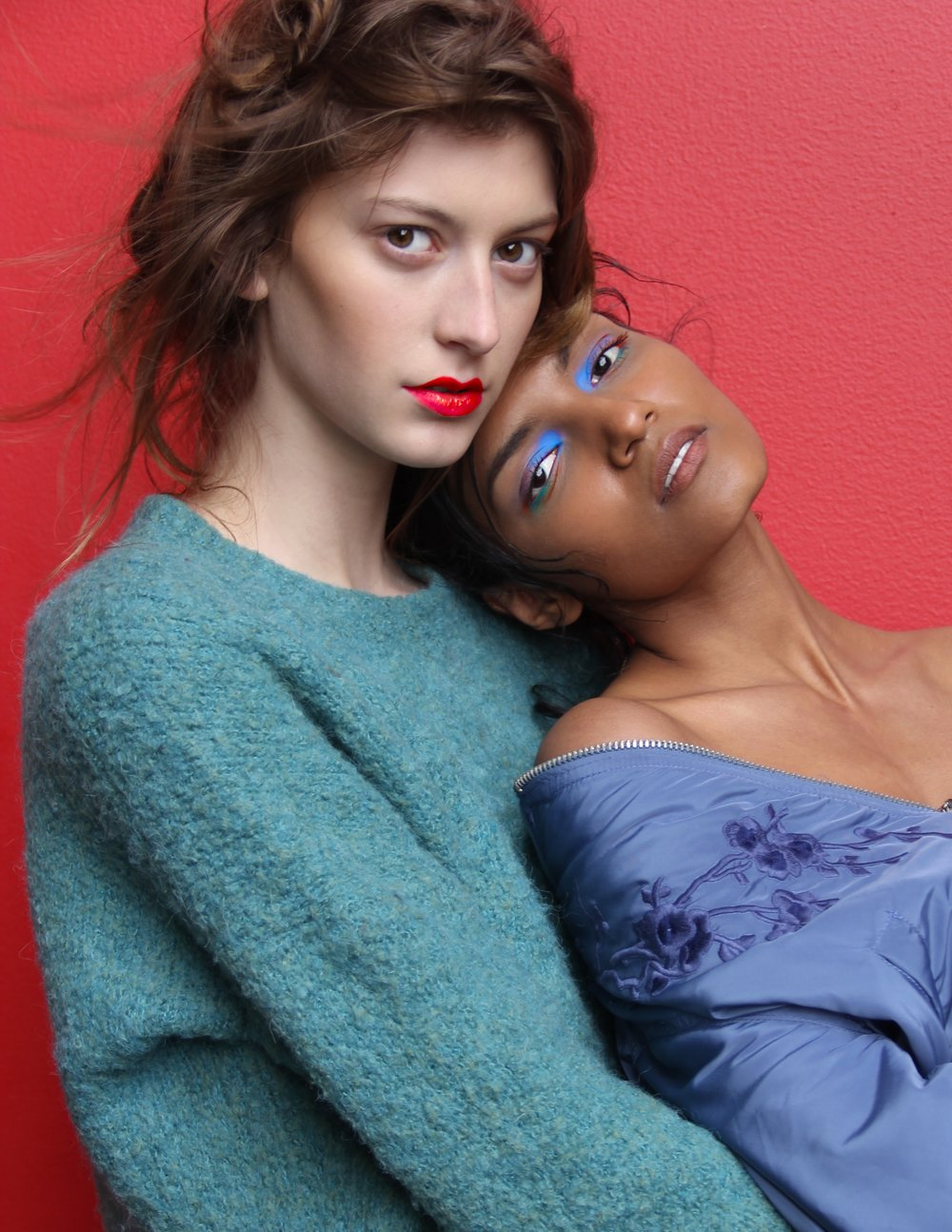 Photographer: Ivan McCartney  Models: Julia Mandirola & Shaanti Chaitram (Major Models NY)