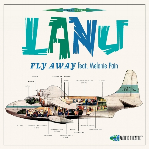 115. Lanu - 'Fly Away' feat. Melanie Pain    1. Fly Away feat. Melanie Pain 2. Fly Away feat. Melanie Pain (Natural Double Remix) 3. Fly Away feat. Melanie Pain (Live At Matira Beach Acoustic Version) Pacific Theatre/Inertia/Republic Of Music  DIGITAL SINGLE  (Pacific Theatre/Inertia/Republic Of Music) AUS/U.K 2016