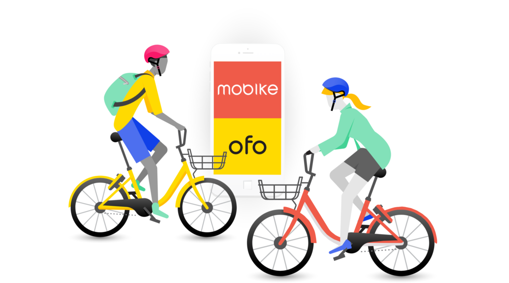 ofo & Mobikewinter 2017 - conducted a case study around researching the lack of demand for bike sharing in Guangzhou, interviewed users, and synthesized findings to report to ofo