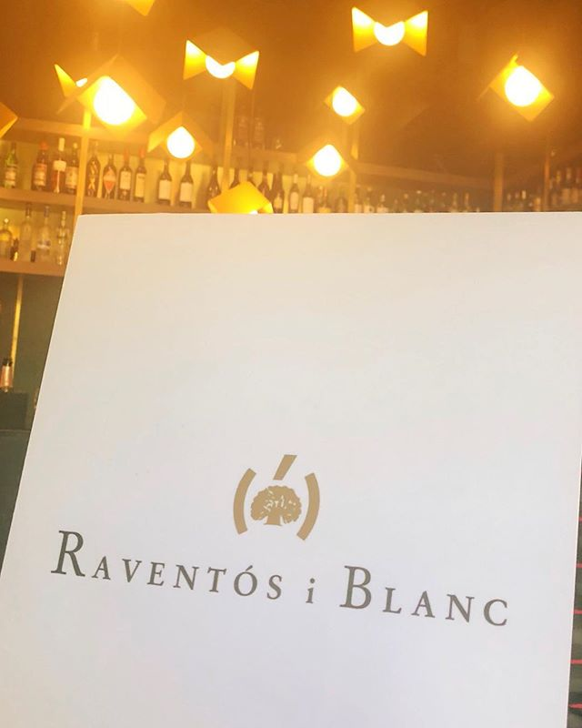 "can't beat an all bubbly tasting on a Monday afternoon, thank you @raventosiblanc —  the ""De Nit"" rosé can be found here by the glass 😍🥂"