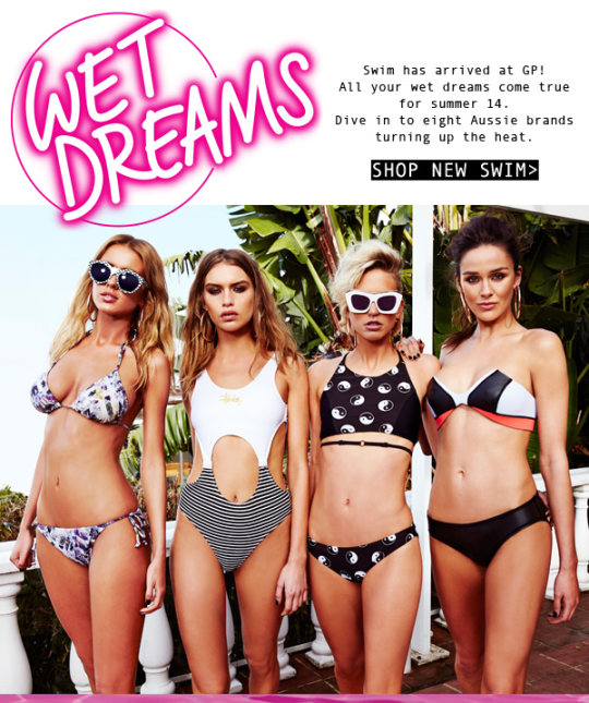 Wet Dreams ad