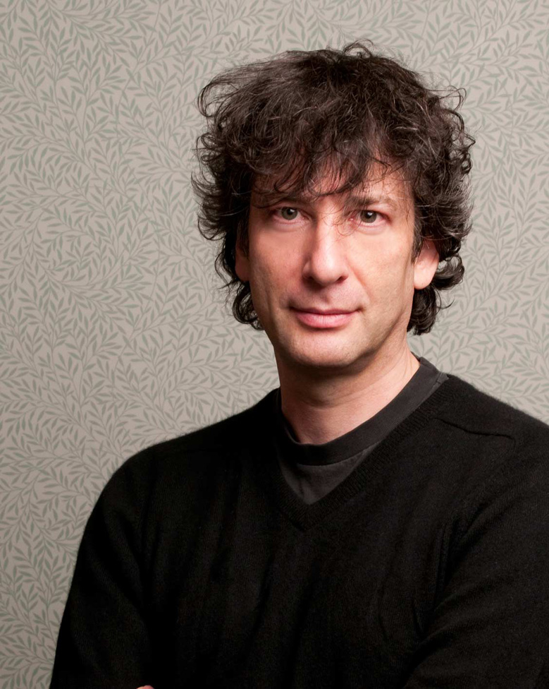 Featured Contributor: Neil Gaiman     browcontribs :     Neil Richard Gaiman is an English author of short fiction, novels, comic books, graphic novels, audio theatre and films. His notable works include the comic book series  The Sandman  and novels  Stardust, American Gods, Coraline,  and  The Graveyard Book . He has won numerous awards, including the Hugo, Nebula, Bram Stoker, Newbery Medal, and Carnegie Medal.     (Sold out, sorry!)  Read his piece in   The Lifted Brow #4: The Fake Bookshelf Issue  .