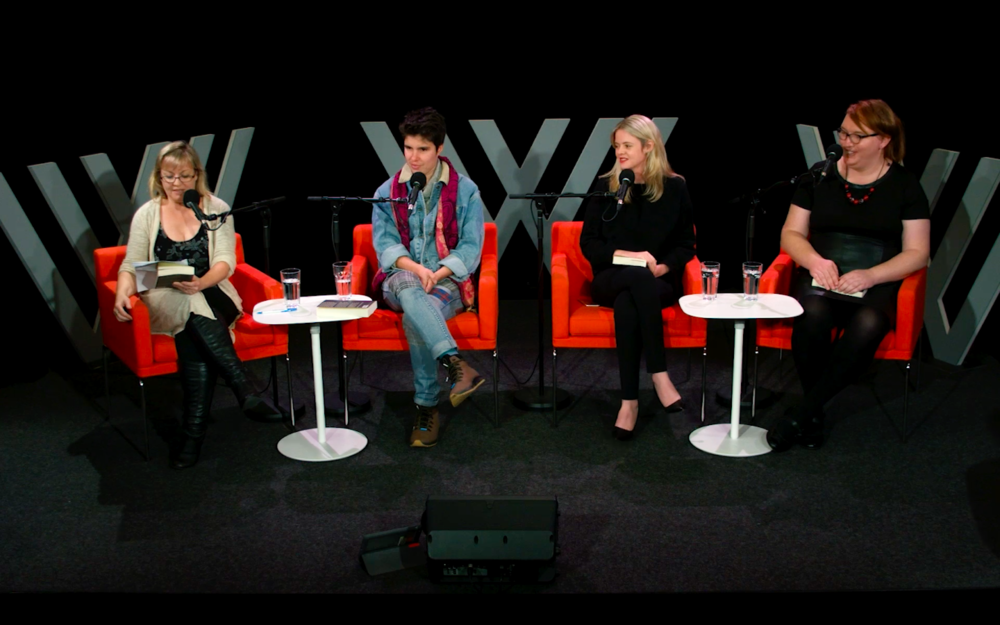 Nicole Hayes, Ellen Van Neerven, Tegan Higginbotham, and Kate Doak discuss the book at the special Wheeler Centre event 'The Long Game: Women in Sport Today'