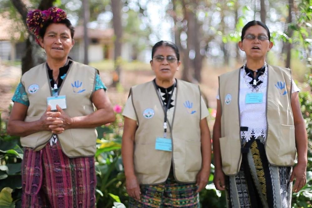 Las Tres Pajaritas:  Magdalena, Maruca, and Rosa Play an Integral Part in GHF Health Promotion
